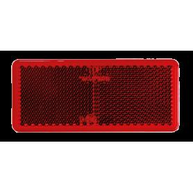 Reflex Rektangulär Röd