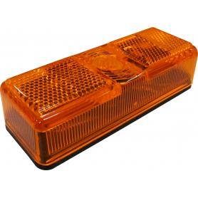 Glas till Sidomarkeringsljus orange