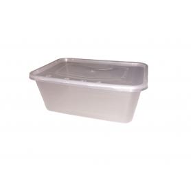 Plastlåda med lock 10-pack