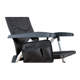 Sidficka till stol Isabella mörkgrå