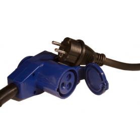 Vinklad adapter med kabel