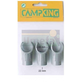 C-klämma nylon 3-pack 22-22mm