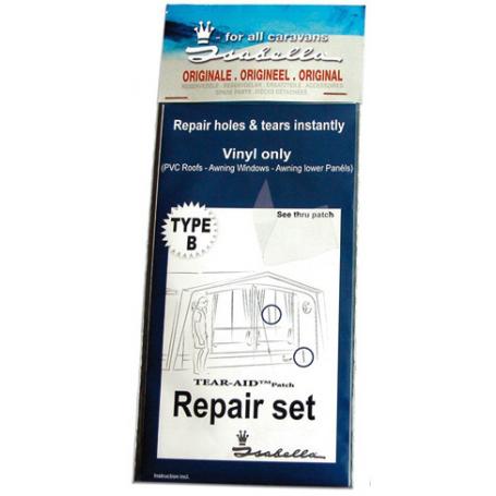 Reparationsset PVC/Vinyl Isabella
