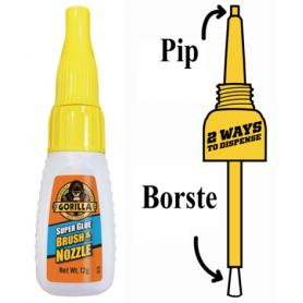 """Gorilla Superglue """"Brush & Nozzle"""""""""""