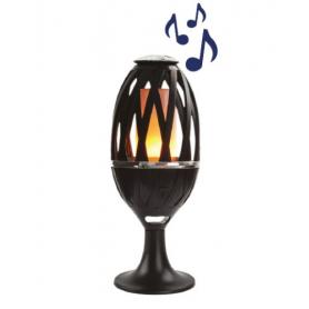 LED Flammande lampa med högtalare - ALS Play