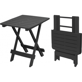 Klappbord svart stor