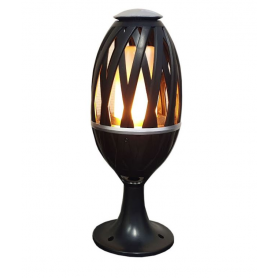 LED flammande lampa FMT