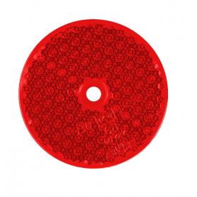 Reflex rund röd